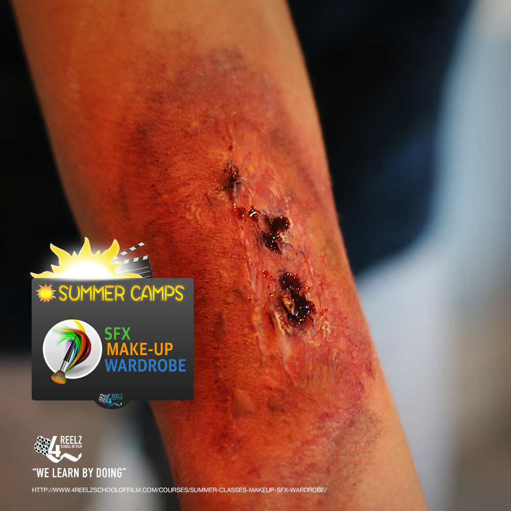 4REELZ_SummerCamp-SpecialFX+MakeUp-Wound