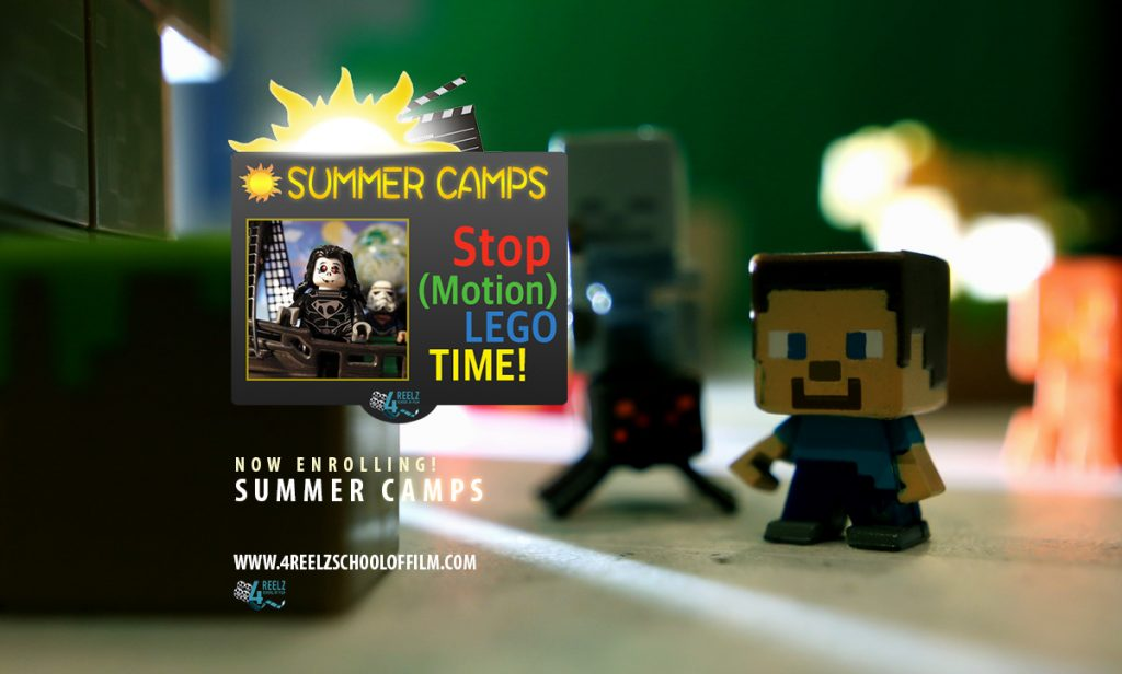 Summer Camp – Stop (Motion)! LEGO Time!! – 4REELZ
