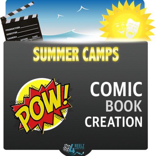 4REELZ - icon - Summer Camp - Comic Book Creation