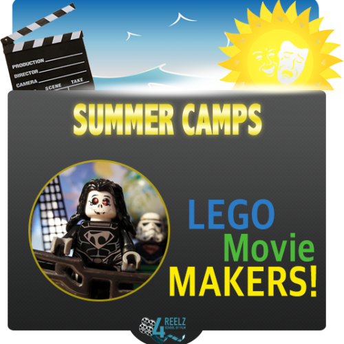 4REELZ - icon - Summer Camp - Stop Motion Lego Camp